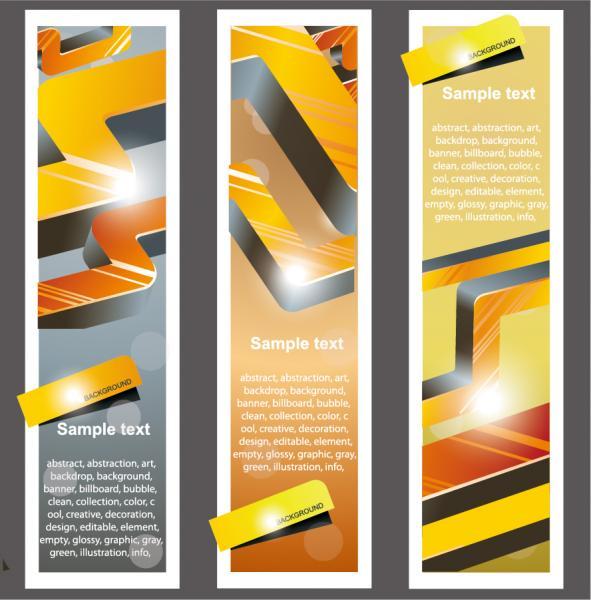 ブックマーク カードの背景 Trend bookmarks cards background