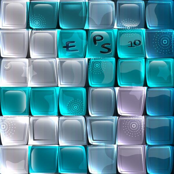 ガラスのテクスチャを敷き詰めた背景 glass texture background