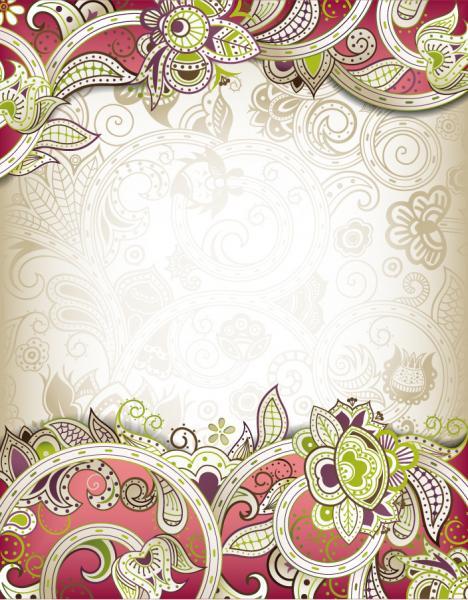 古典的な華やかな背景 classical ornate background