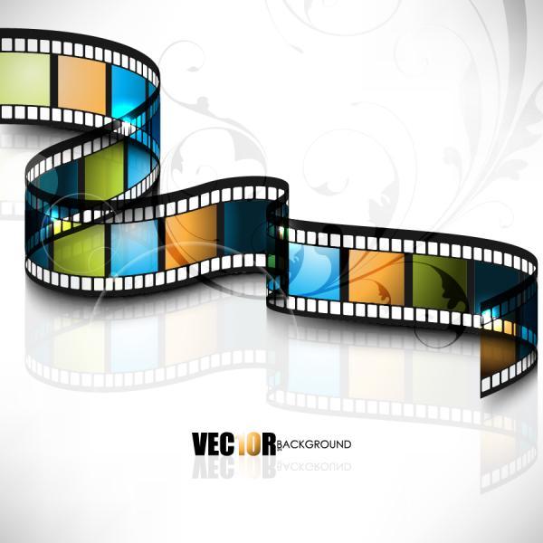 ネガフィルムの背景 negative film background