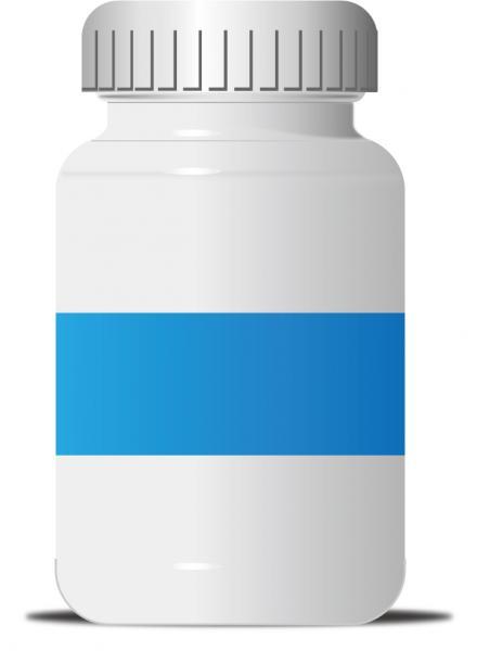 薬の容器テンプレート Vector Pill Bottle