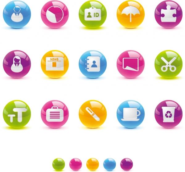 輝くクリスタルボタンのアイコン texture of the crystal ball button icon