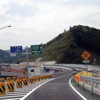 高速道路の合流地点
