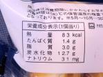 ミニクリームパン栄養成分