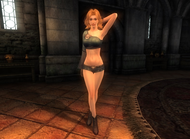 TERA Human Female Robe 02 Qazz_1
