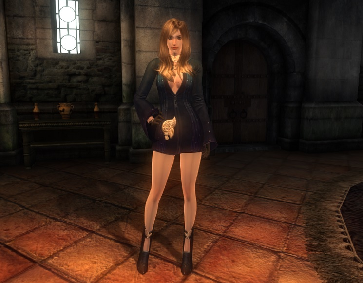 TERA Human Female Robe 08 Qazz_1