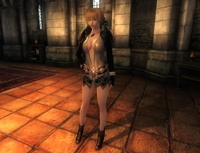 TERA Human Female Robe 18 OH_1