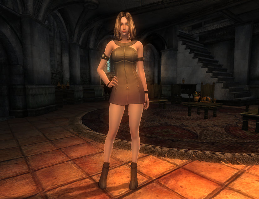 TERA Human Female Robe 00 Qazz 1