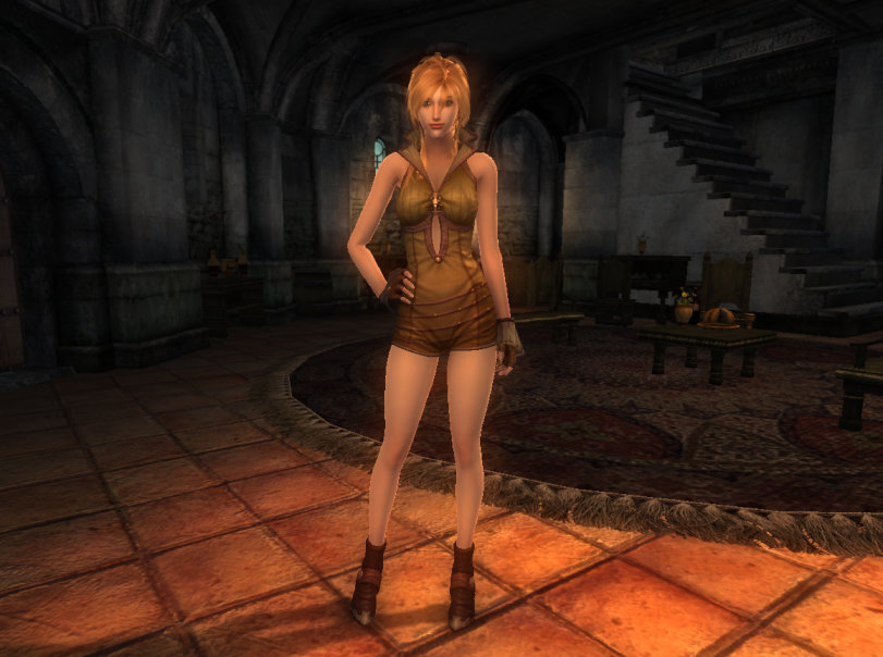 TERA Human Female Robe 01a Qazz 1