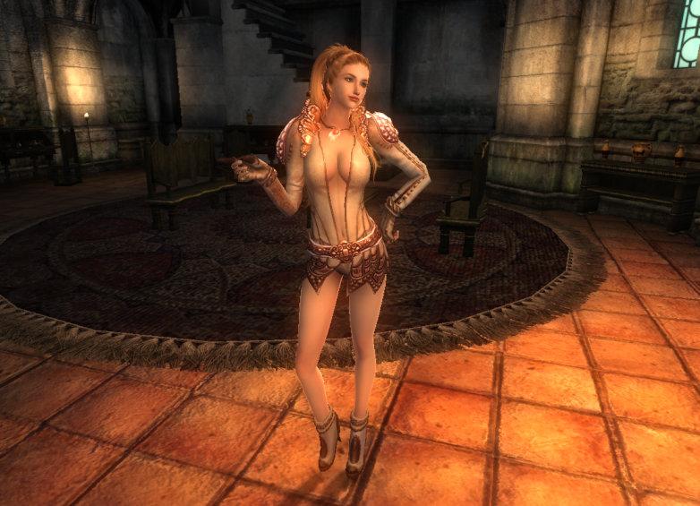 TERA Human Female Robe 18a OH 1