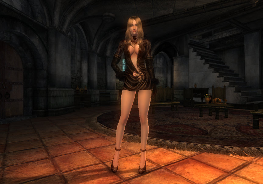 TERA High Elf Female Robe 18a OH 1