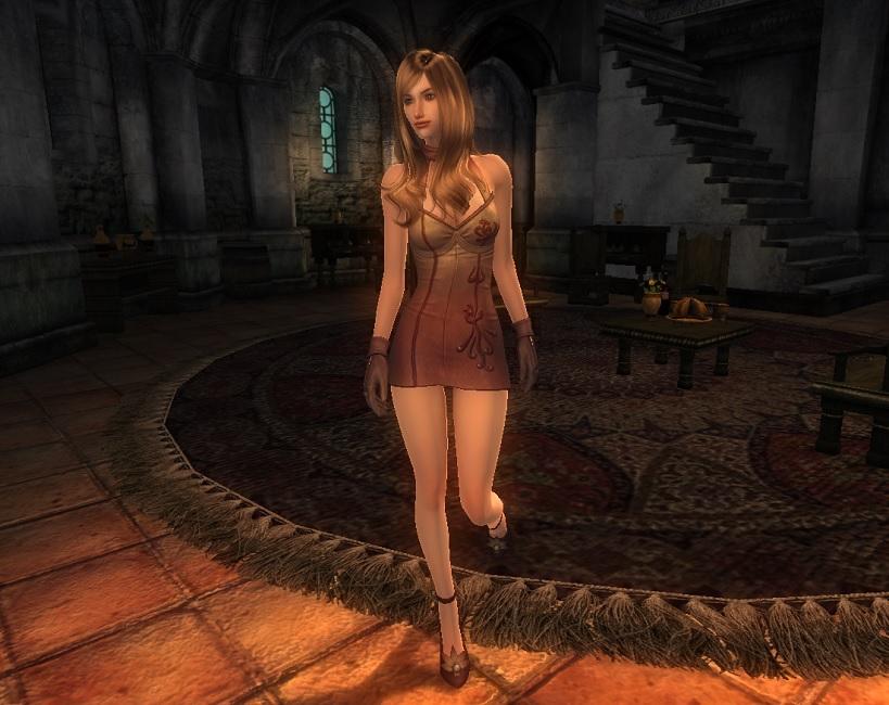 TERA Human Female Robe 03 Qazz 1
