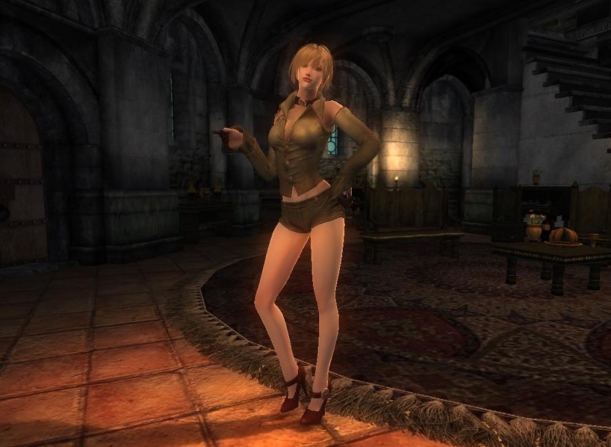 TERA Human Female Robe 04 Qazz 1