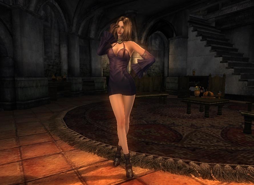 TERA Human Female Robe 05 Qazz 1
