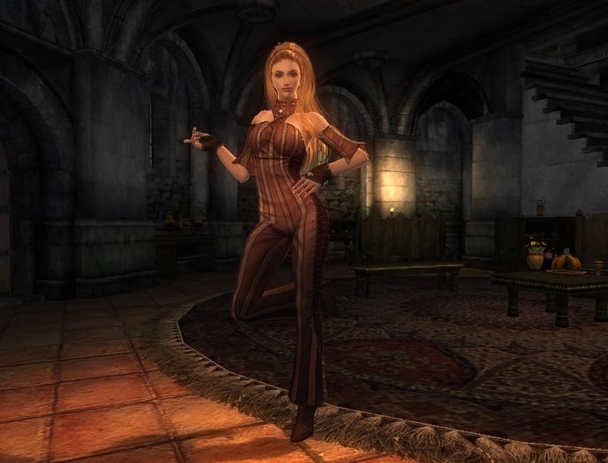TERA Human Female Robe 06 Qazz 1