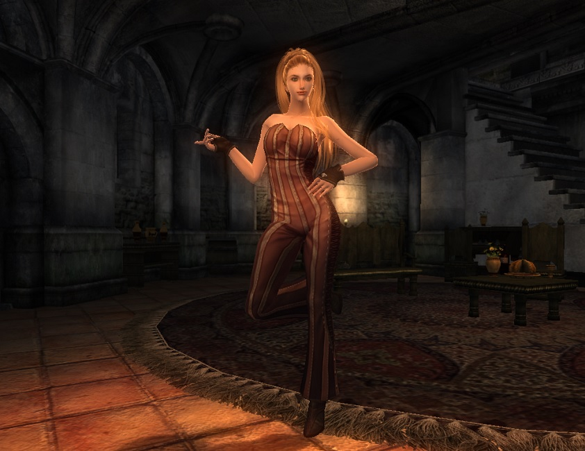 TERA Human Female Robe 06 Qazz 3