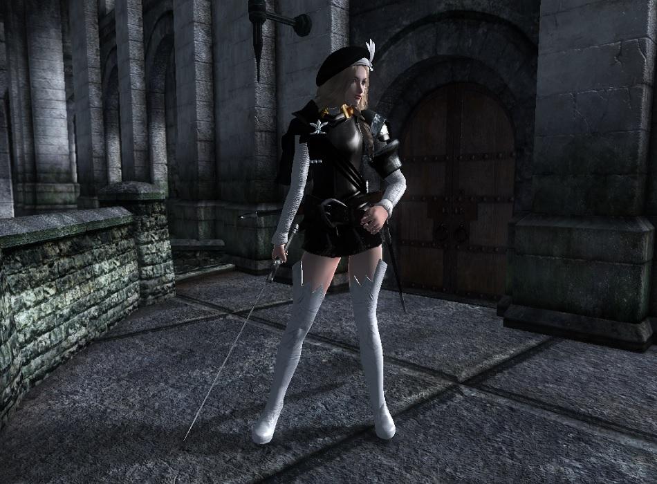 Cute Knight Armor 3