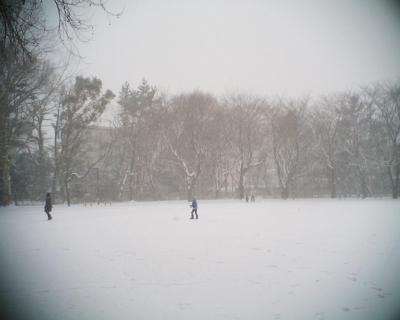 大雪の中:R2