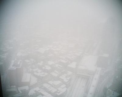 雪の東京を見下ろす:R2