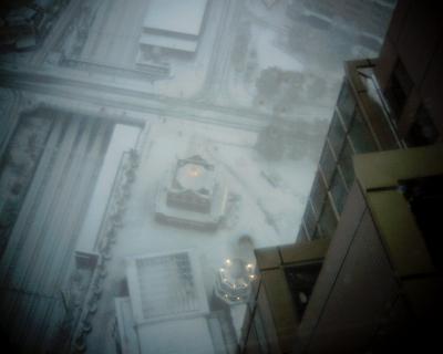 雪の恵比寿ガーデンプレイスエントランスパビリオン:Entry