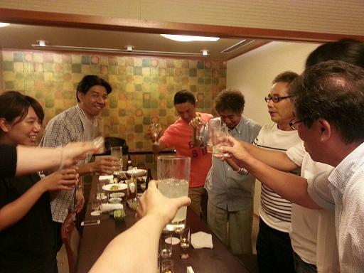 ブロミニ乾杯2