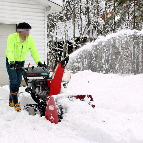 除雪用の機械
