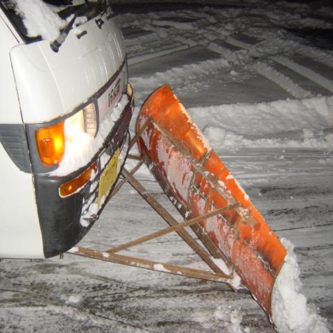 除雪版排土板