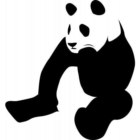 悩めるパンダ