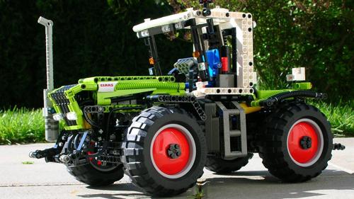 レゴトラクター