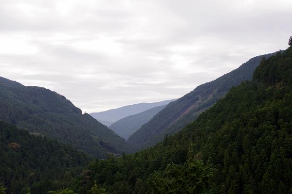 岩屋寺への道