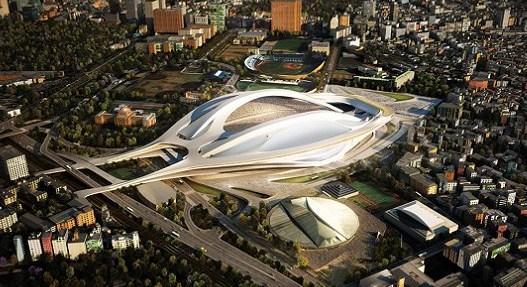 2020東京オリンピックメインスタジアム