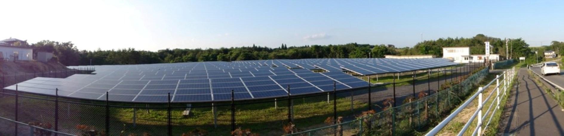 太陽光発電 284号線