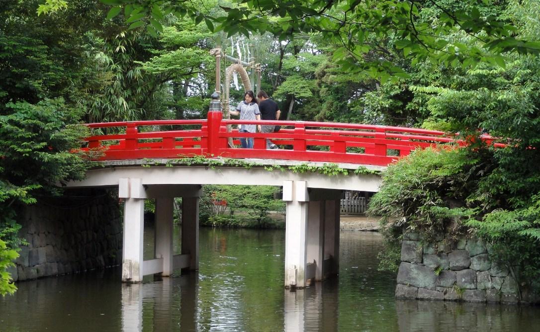 氷川神社 茅の輪