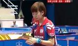 【卓球】 武揚VS梁夏銀 アジアカップ2013