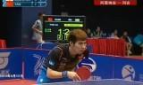 【卓球】 閻安VSアラミヤン アジアカップ2013(準決勝)
