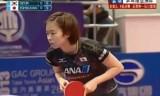 【卓球】 石川佳純VS石賀浄 アジアカップ2013(3決)