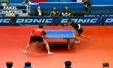 【卓球】 サムソノフVSガオニン ECL2012/2013