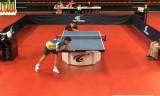 【卓球】 カズンVSローレンス フランス選手権2013