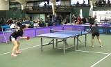 【卓球】 全米大学卓球協会(NCTTA)の試合1