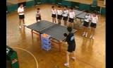 中国卓球教室 中国での教え方を学ぶ3