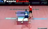 【卓球】 ムッティVSタピア 世界卓球2013パリ