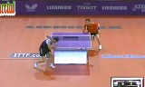 【卓球】 クレアンガVSズウィッケル 世界卓球2013