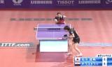【卓球】 石川佳純VSダウラトリィ 世界卓球2013パリ