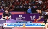 【卓球】 吉村真晴/石川佳純(2回戦)世界卓球2013