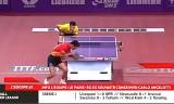 【卓球】 許昕VS張継科(準決勝) 世界卓球2013パリ