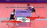 【卓球】 金珉鉐VSクレアンガ 世界卓球2013パリ