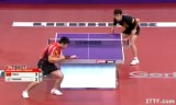 【卓球】 閻安VS荘智淵(4回戦)世界卓球2013パリ
