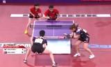 【卓球】 李尚洙/朴英淑VS北朝鮮の混合ダブルス