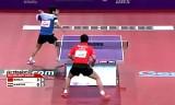 【卓球】 王皓VSアラミヤン 世界卓球2013パリ