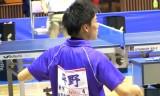 【卓球】 平野友樹VS山本勝也 関東学生リーグ2013